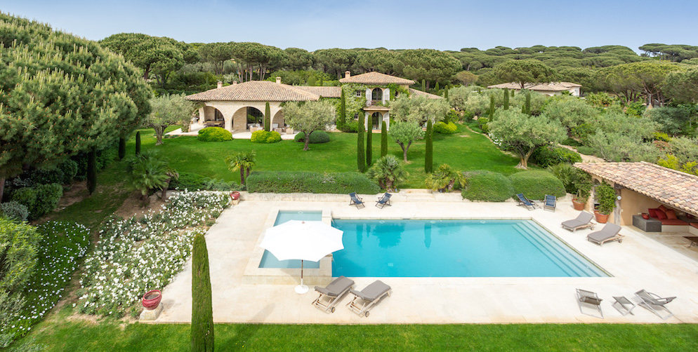 Rent Villa Bella Vista Saint Tropez 2016
