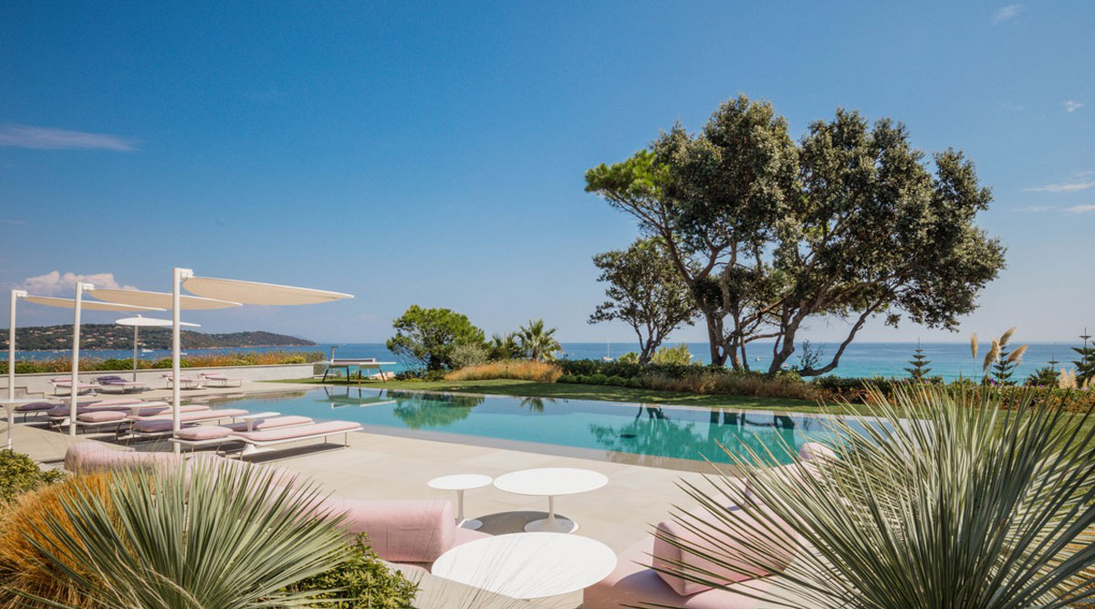Luxury villas st tropez with seaviews for rent