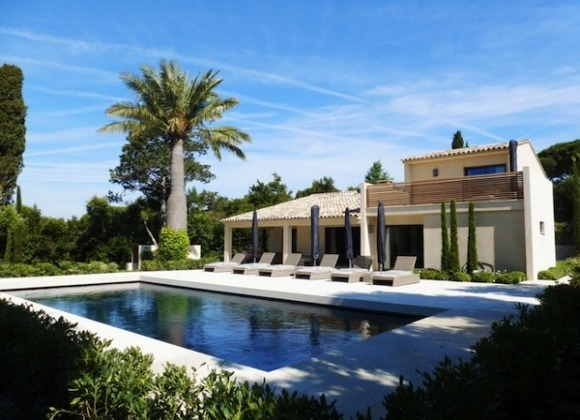 Villa Katarina in La Moutte St Tropez - house and pool