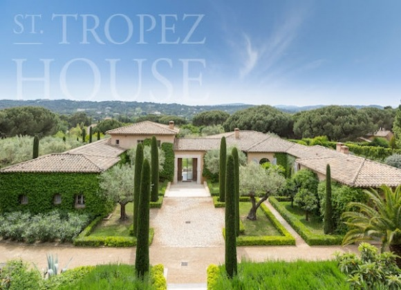 Villa Zen in La Moutte St Tropez for rent - property & garden