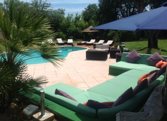 Villa Mas de Sables in Saint Tropez - Summer launge