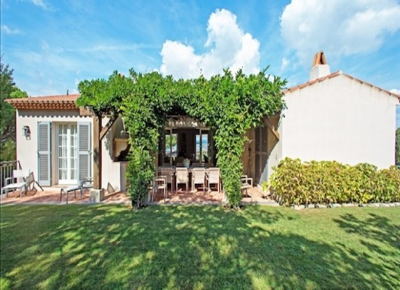 Villa Sofia in Saint Tropez - main house
