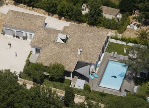Rent Villa Helena St Tropez - main house