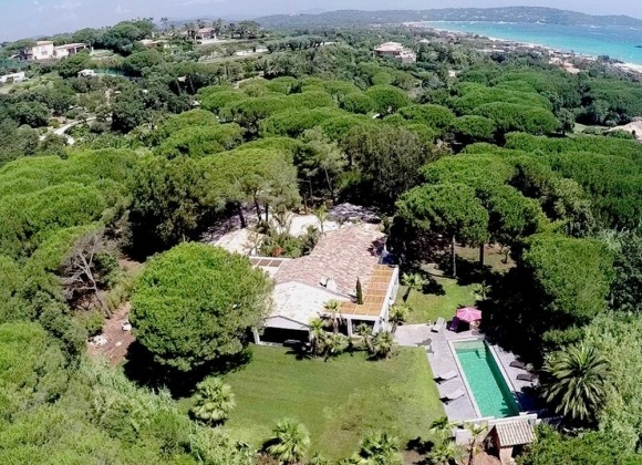 rent villa pampelonne beach property