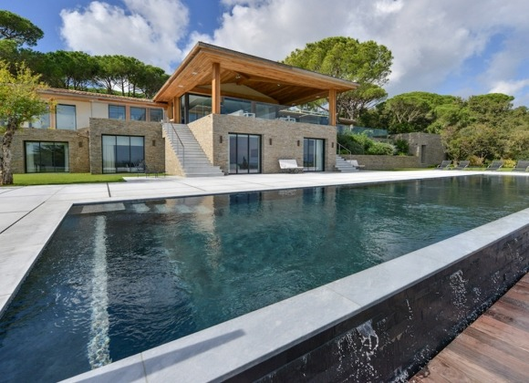 rent villa st tropez tahiti swimming pool