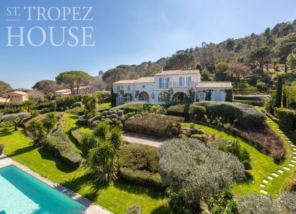 villa for rent st tropez route des plages property villa anton front