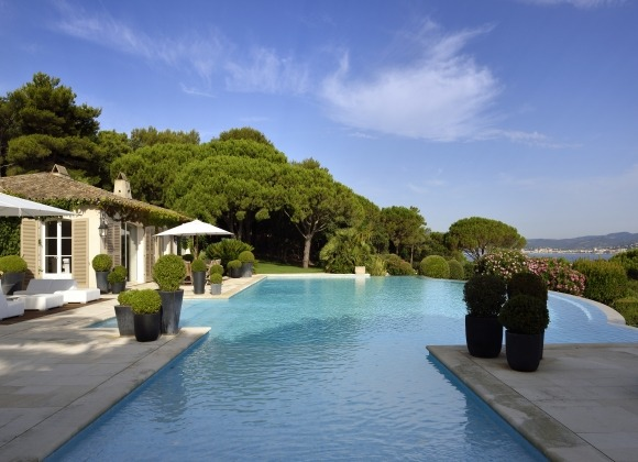 villa for rent les parcs de st tropez royal palm property front