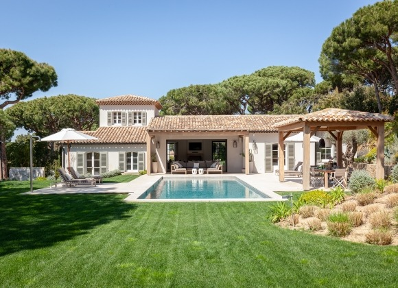 villa for rent le parcs des st tropez agape property swimming pool