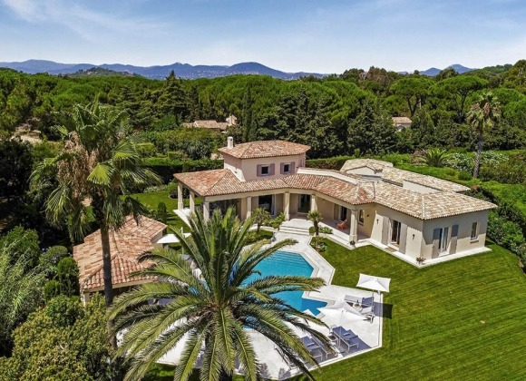 Villa Magnifique for rent in les salins st tropez - property