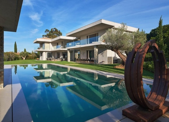 villa for rent les salins st tropez hollywood property front