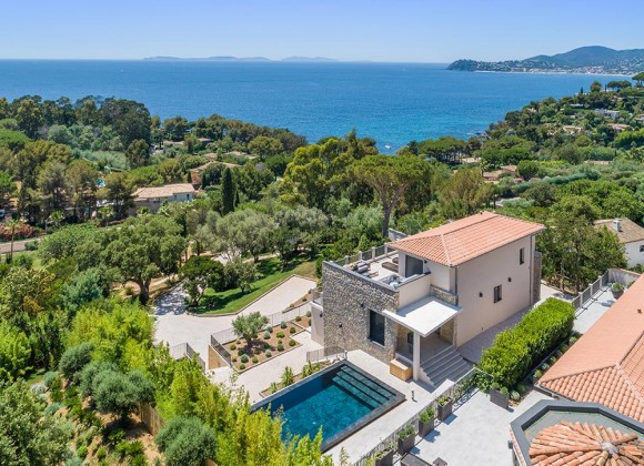 villa for rent victoire la croix valmer domaine louise property birdview sea view