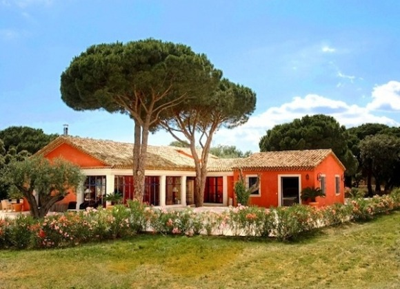 Rent Villa La Source Les Salins St Tropez- property