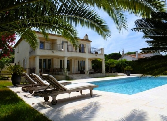 Rent Villa Palmier center St Tropez - swimming pool