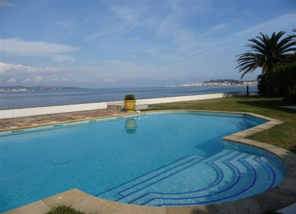 Rent Villa Rosedemai St Tropez - pool seaview