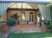 luxury villa for rent in saint tropez_terrace