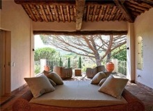 Rent Villa Sarah Grimaud - covered terrace