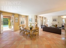 villa for let st tropez domaine de la castellane villa castelanne living area