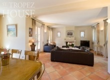 villa for rent st tropez domaine de la castellane villa castelanne living area