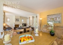 villa for let st tropez domaine de la castellane villa castelanne dining area