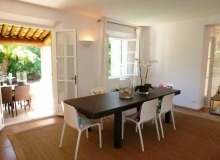 luxury villa for rent in st tropez_dinning room