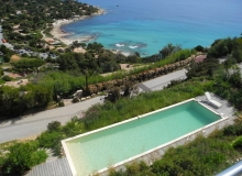 Villa with a seaview in Ramatuelle - swimming pool