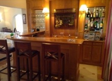 luxury villa for rent in Ramatuelle_bar