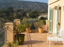luxury villa for rent in Ramatuelle_terrace