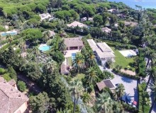 Villa Mouttier in Saint Tropez - Aerial 1