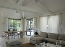 Villa Salins Modern in Saint Tropez - Living room