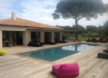 Villa Salins Modern in Saint Tropez - Swimming pool