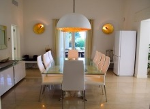 villa for rent tahiti st tropez villa la capilla dining area