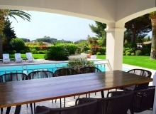 villa for rent tahiti st tropez villa la capilla outdoor dining area