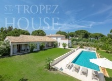 Luxury Villa Kalliste in Les Parcs de Saint Tropez - swimming pool