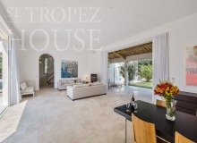 Luxury Villa Kalliste in Les Parcs de Saint Tropez - living room