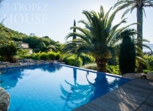 rent villa playa st tropez la belle isnarde swimming pool