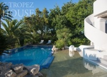 let villa playa st tropez la belle isnarde swimming pool