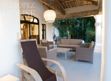 rent villa playa st tropez la belle isnarde terrace