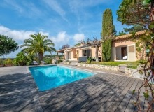 villa for rent st tropez cap tahiti swimming pool