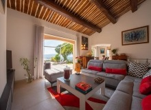 villa for rent st tropez cap tahiti living room