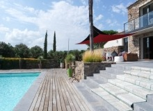 rent st tropez messardiere villa aimee pool