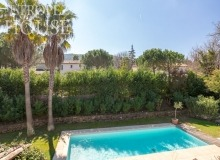 villa for rent st tropez domaine de la castellane villa azalee terrace view