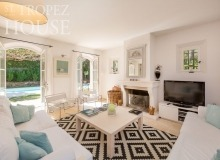 villa for rent st tropez domaine de la castellane villa azalee living area