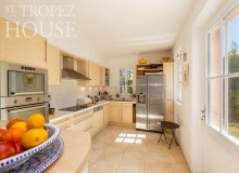 villa for rent st tropez domaine de la castellane villa azalee kitchen
