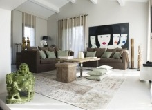 Villa Charming in Saint Tropez – Living Room