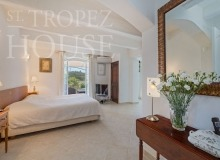 Villa Oliver next to the Pampelonne beach in Saint Tropez - bedroom 1