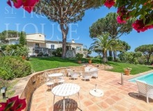 Villa Oliver next to the Pampelonne beach in Saint Tropez - house