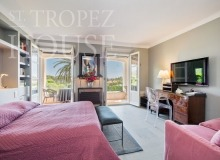 Luxury villa Diana in Pampelonne beach in St Tropez - bedroom 1