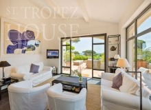 Luxury villa Diana in Pampelonne beach in St Tropez - second living room