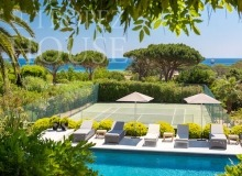 Luxury villa Diana in Pampelonne beach in St Tropez - tennis court