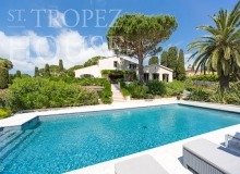 Luxury villa Diana in Pampelonne beach in St Tropez - swimming pool